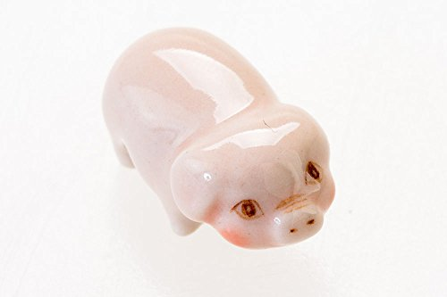 Piggy Ceramic Miniature Cute Tiny Pig Figurines Animal Collectibles Decor Gifts