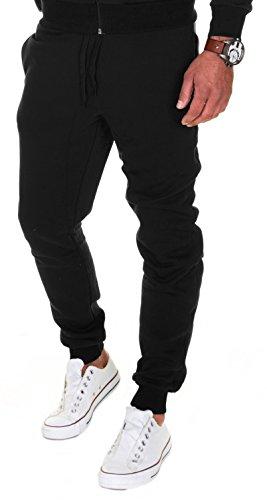 Merish Jogging Hommes Pantalon de Sport Jogger Homme Survêtement Coton Slim Fit 211
