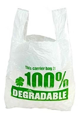 Bolsas de plástico resistentes 100% degradables, ecológicas ...
