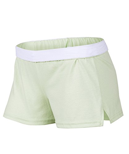 Soffe Juniors New Low Rise Short, Aqua Mist, Extra Small from Soffe