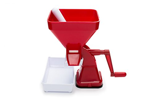Farm to Table 57668 Tomato Press, Food Strainer/Sauce Maker for Tomato Sauce, Salsa, Marinara, Apple Sauce and more