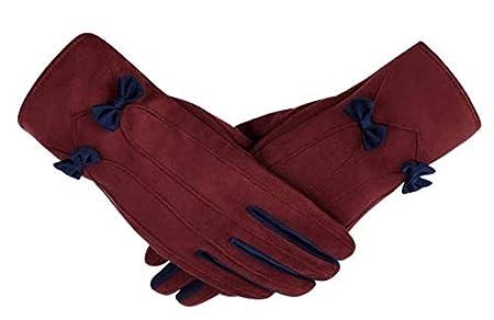 386e16929b STZHIJIA Gloves Guantes Exteriores De Invierno para Mujeres Guantes De  Pantalla Táctil con Preciosos Guantes De ...