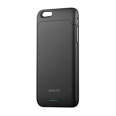 iPhone 6 / 6s Battery Case, Anker Ultra Slim Extended Battery Case for iPhone 6 / 6s (4.7 inch) with 2850mAh Capacity / 120% Extra Battery [Apple MFi Certified] (Black) by Anker