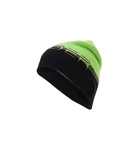 - Spyder Men's Reversible Word Hat, Fresh/Black/Polar, One Size