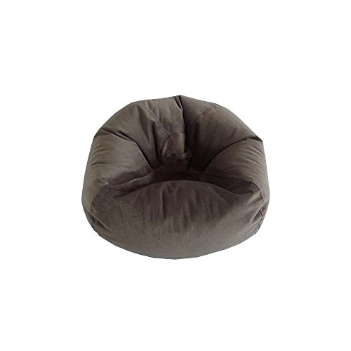 Ace Bayou 9802901 Large Textured Velvet Bean Bag in Pewter (Large Bag Bayou Bean)