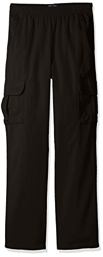 The Children's Place Big Boys' Pull-On Cargo Pant, Black, (Childrens Cargo Pants)