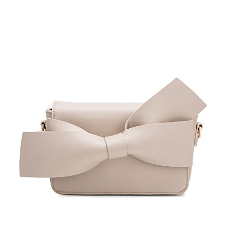 Melie Bianco Stylish Crossbody Strap Shoulder Bags For Women - Dior Bow Clutch Design - Luxury Vegan Leathe (Bow Clutch)