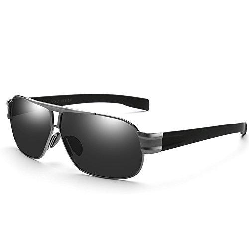 conduisant B soleil Hommes ZHIRONG en voyage lunettes de de polarisées de haute définition lunettes plein Couleur solaire légères air C protection lunettes des 1wqCX5C