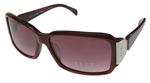 Elle 18866 Womens/Ladies Designer Full-rim Gradient Lenses Sunglasses/Eyewear (57-14-125, - Elle Sunglass