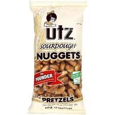 UTZ Sourdough Nuggets Preztels 16 Ounces (Pack of 10)
