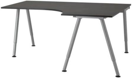 new arrival 326ef 98ee0 IKEA Galant computer desk (DARK BROWN): Amazon.co.uk ...