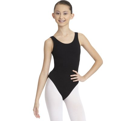 Capezio Dance Women's Tank Leotard ,Black,US L