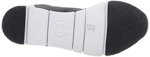Sneaker microfiber Uomo Basse Nylon Klein navy blue Calvin Reflex Blu navy Jude wI0pXn6q