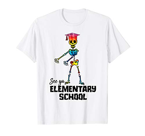 See Ya Elementary School Shirt | Tie Dye Graduation Tee Gift