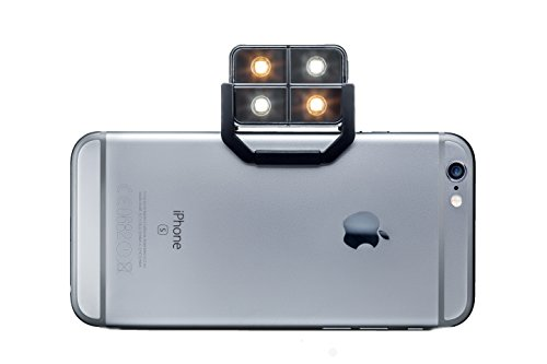 iBlazr 2 LED Wireless Flash for iPhone, iPad and Androids, Retail Packaging, Black