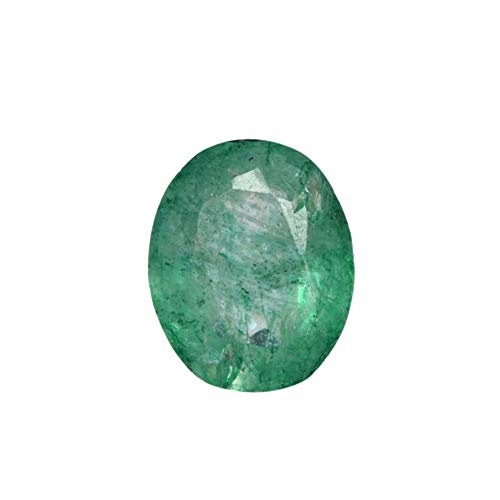 (2.60 Ct Egl Certified Oval Cut Natural Green Emerald Loose Gemstone Jewelry Making DX-836)