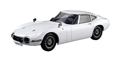 青島文化教材社 1/32 ザ・スナップキットシリーズ トヨタ 2000GT ペガサスホワイト 塗装済みプラモデル 05A