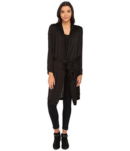 Velvet by Graham & Spencer Women's Tam Belted Cardi, Black MD