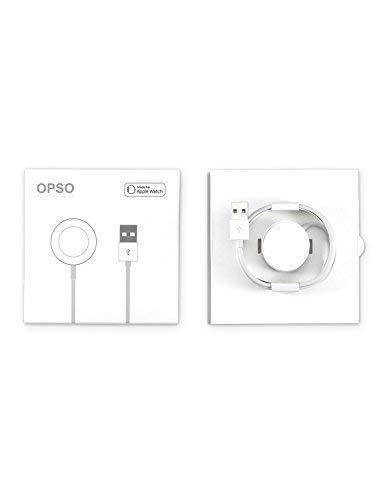 [Apple MFi Certified] Apple Watch Chargeur, OPSO Câble de charge magnétique pour Apple Watch / iWatch 38mm et 42mm - 3.3Feet (1 Mètre)