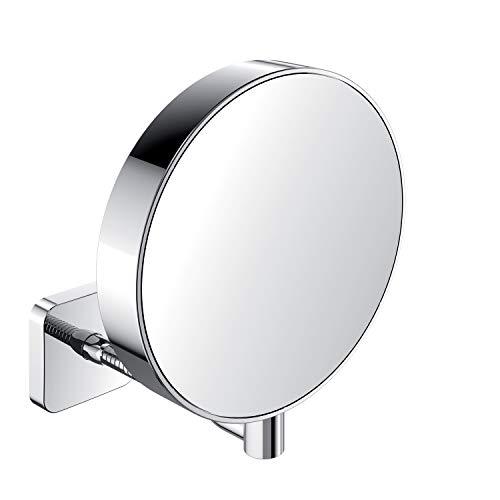 Emco Shaving and Cosmetics Mirror Unlit, 1Piece, Chrome, -