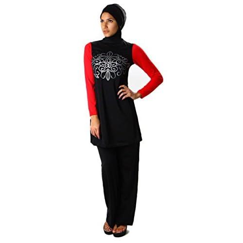 1c4f154cd36a Mejor Modest Encuadre de cuerpo entero del traje de baño de las mujeres  islámicas burkini