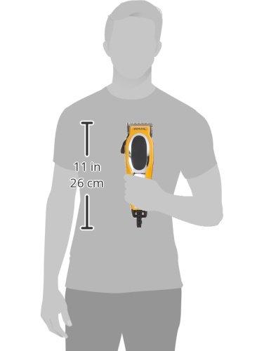 Wahl 79520-3101P Groom Pro Total Body Grooming Kit, high-carbon steel blades, Yellow & Black