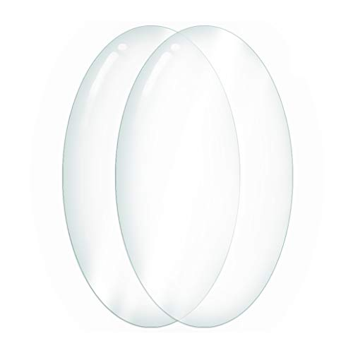Amazon.com - Icona Bay Oval 4x6 Glass Replacement for Frames (2 Pack ...