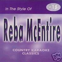 - REBA MCENTIRE Country Karaoke Classics CDG Music CD