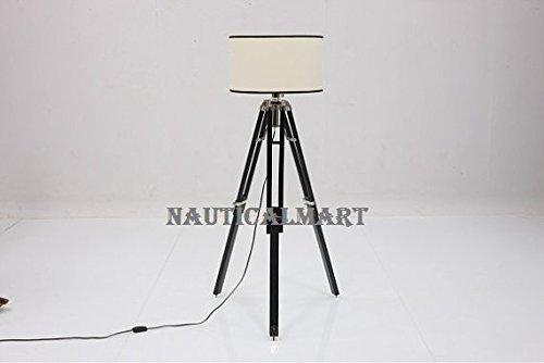 Nauticalmart Designer\'s Vintage Tripod Floor Lamp For Living Room ...