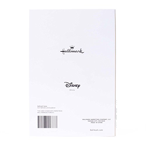 Hallmark Father's Day Greeting Card for Grandfather (Disney Mickey Mouse, World of Love and Experience) Photo #2