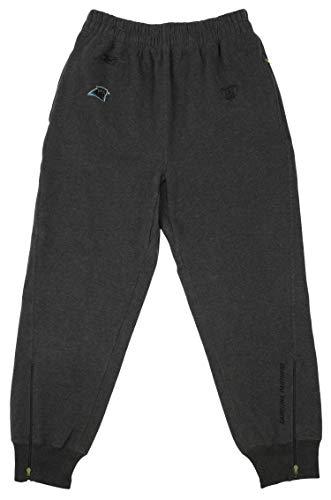 (Reebok Carolina Panthers NFL Mens Equipment Tapered Fleece Pants, Grey (X-Large))