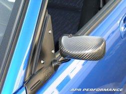 APR Performance CB-310003S Silver Carbon Fiber Mirror (Formula 3)