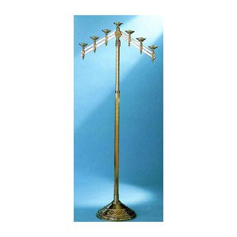 - Church Floor Candelabra with Adjustable Arms