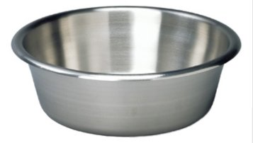 Graham-Field 3247 Solution Bowl, Stainless Steel, Capacity 7 quart, 13-5/8'' x 4-5/8''