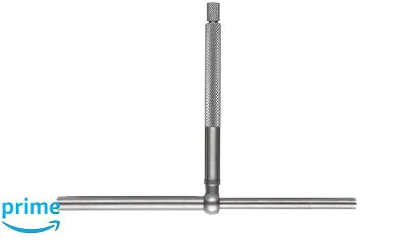 Starrett S229FZ Telescoping Gauge With 1 Telescoping Arm Set 3 Pieces 2-3//8 Handle Length 1//2-2-1//8 Range