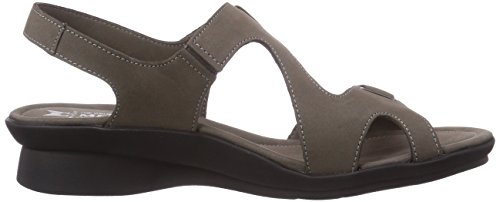 Mephisto Paris Bucksoft 6925 Pewter, Women's Open Toe Sandals Grau (Pewter)