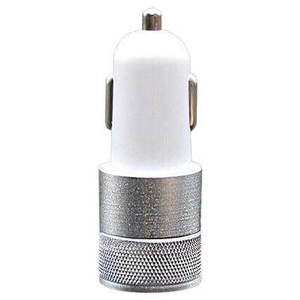 HaiMa App Car Cargador De Metal Doble USB Coche Cargador De ...