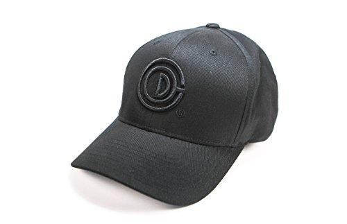 GOD CREATED 3D Logo Cap (Large/XLarge, Black)