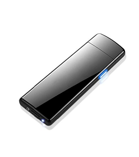 The Namche USB Lighter Rechargeable - Electronic Lighter Windproof - Elegant Electrical Cigarettes Lighter with Gift Box