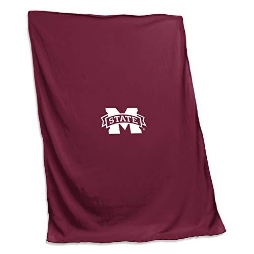Fleece Sweatshirt 54 Blanket - Logo Brands NCAA Mississippi State Bulldogs Sweatshirt Blanket