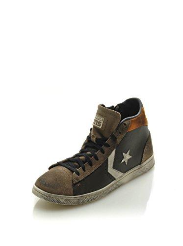 Converse Sneaker Pro Leather Lp Mid Lth/Sue Z T Marrone/Arancione EU 37.5