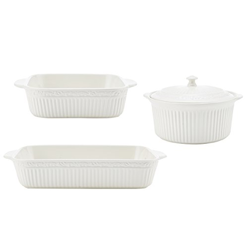 Mikasa Italian Countryside 3-Piece Bakeware Set