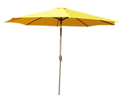 American Made Patio Furniture (VMI 9' Aluminum Umbrella, Yellow)