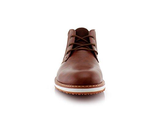Ferro Aldo Houstan Mfa506031 Menns Chukka Boots Brun
