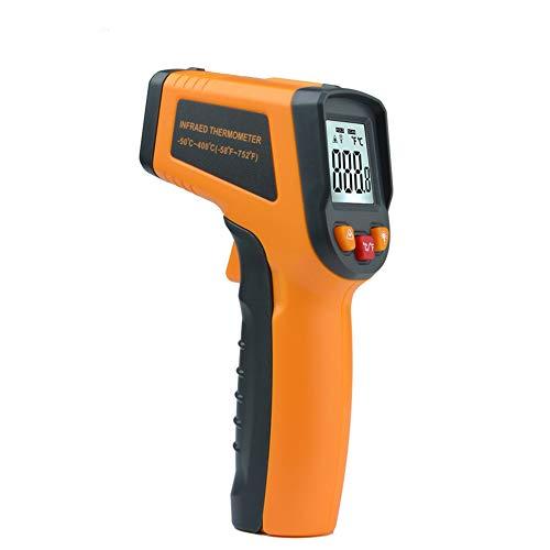 LOadSEcr'Home Improvement Tools Mestek MT380 Non-Contact IR Laser Point Gun Digital Infrared Thermometer Tester Handyman Tool - Orange
