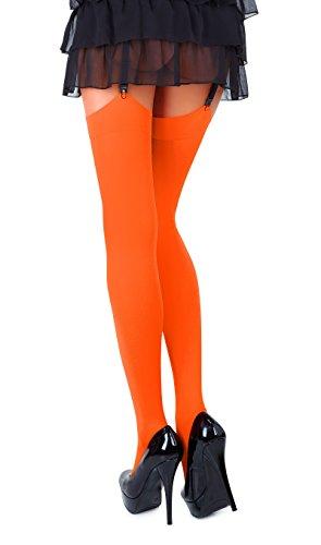 Orange nbsp;DEN e dimensioni diversi in Romartex in a microfibra 40 calze colori XcnOwPqOR