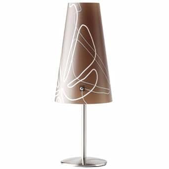 Brilliant 02747/23 - Lámpara de mesa y mesilla de noche