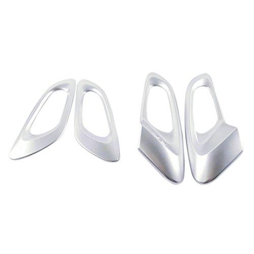 per Kadjar 2015 2016 2017 2018 ABS di plastica Matt Interieur portiera Maniglia coprilampo 4 pezzi YUZHONGTIAN Auto Trims Co. Ltd