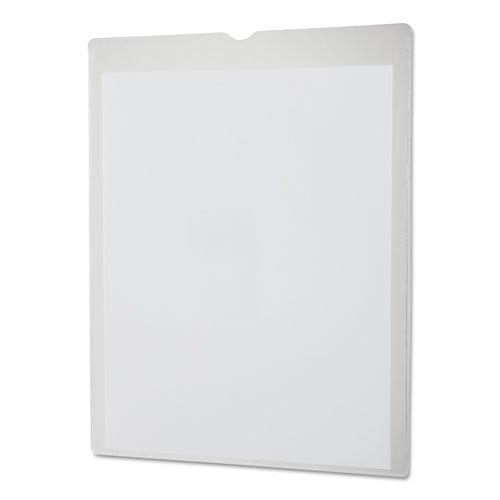 Oxford 65011 Utili-Jac Heavy-Duty Clear Plastic Envelopes, 8 1/2 x 11, Letter, 50/Box