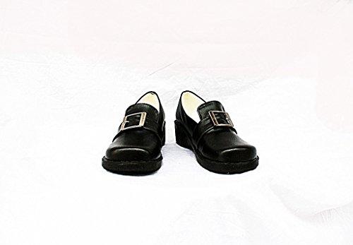 Zwarte Butler Kuroshitsuji Ciel Cosplay Schoenen Laarzen Op Maat Gemaakt